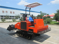 Self-Propelled Crawler Type Rotary Tiller