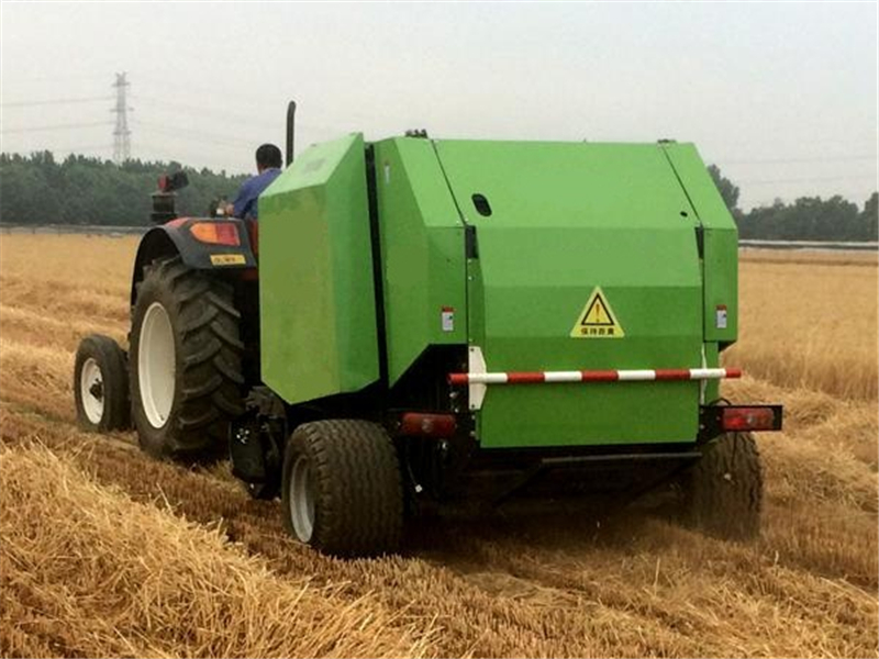 FMYG Round Hay Baler with Net Package