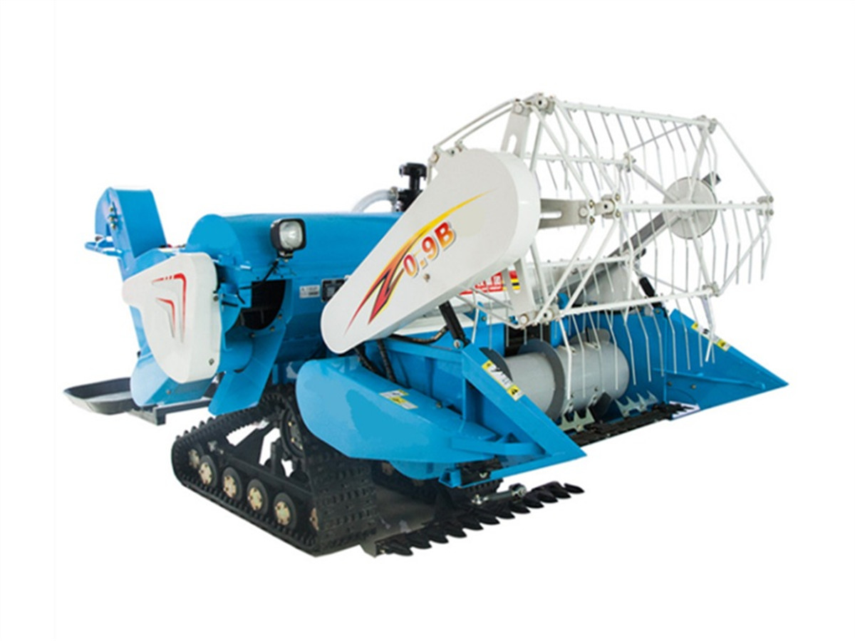 4L-0.9B Mini Crawler Rice Combine Harvester