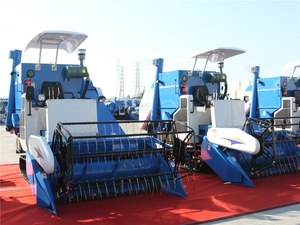 4LZL-4.0 Rice & Wheat Combine Harvester