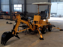 Towable Backhoe with Diesel Engine