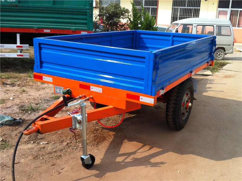Single Axle Trailer with Artificial Unloading(European Style)