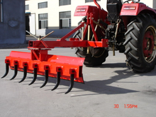 Grader Blade with Tine