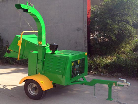 18HP Diesel Engine Wood Chipper