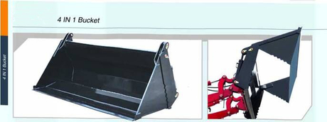 TZ 4 IN 1 Bucket For Front End Loader