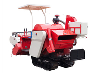 4LZ-1.0 Mini Crawler Rice Combine Harvester