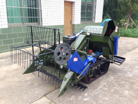 4LZ-0.8 Mini Rice&Wheat Combine Harvester